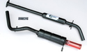 "METRO 1 7/8"" TWIN BOX  EXHAUST SYSTEM (LST021K)"